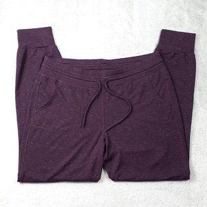 4/$25 32 Degrees Heat Purple Fleece Jogger Medium